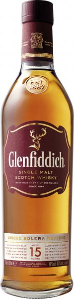 Glenfiddich Solera Single Malt Scotch Whisky 15 years