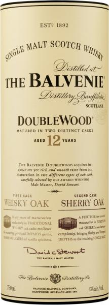Balvenie Double Wood Single Malt Scotch Whisky 12 years