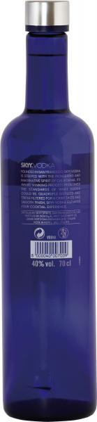 Skyy Vodka 40% Vol.