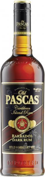 Old Pascas Ron Negro Barbardos Rum