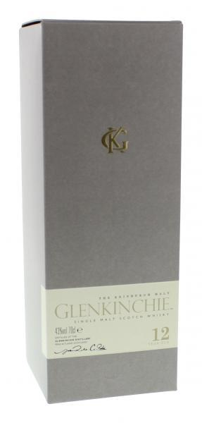 Glenkinchie The Edinburgh Malt 12 Years Single Malt Scotch Whisky