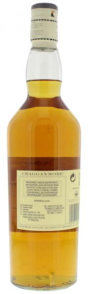 Cragganmore 12 Years Spreyside Single Malt Scotch Whisky