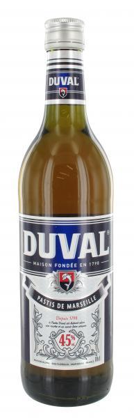 Duval Pastis de Marseille