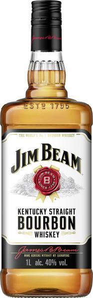 Jim Beam White Bourbon Whisky
