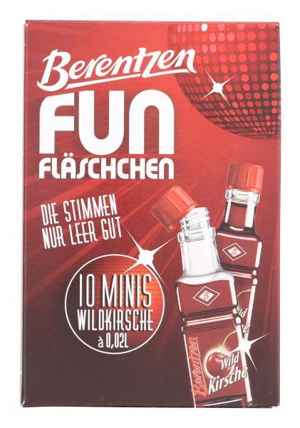 Berentzen Fun Fläschchen Wildkirsche