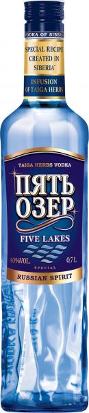 Siberian Vodka Five Lakes