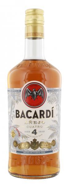 Bacardi Añejo Cuatro 4 Years