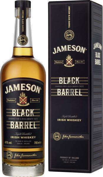 Jameson Black Barrel Blended Irish Whiskey 40%
