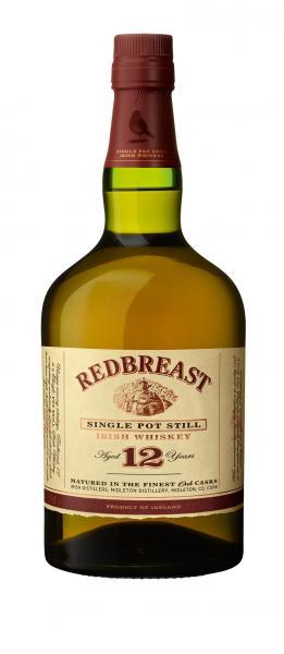 Redbreast 12Y Single Malt Irish Whiskey 40% Vol.