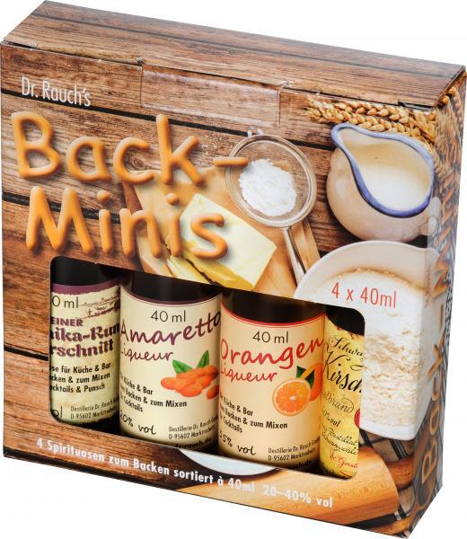Dr. Rauch's Back-Minis 20 - 40% Vol.