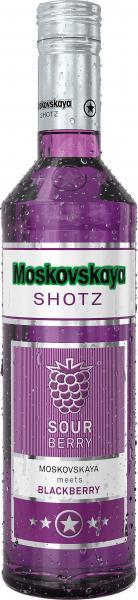 Moskovskaya Shotz Sour Berry Blackberry
