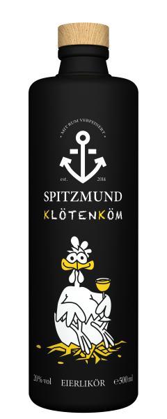 Spitzmund Klötenköm Eierlikör 20% Vol.