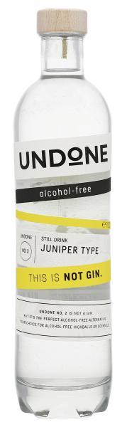 Undone No. 2 Not Gin alkoholfrei