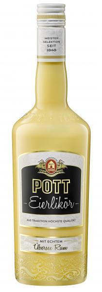 Pott Eierlikör mit echtem Übersee Rum
