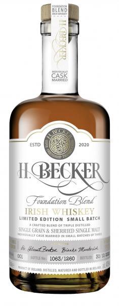 H. Becker Foundation Blend Irish Whiskey