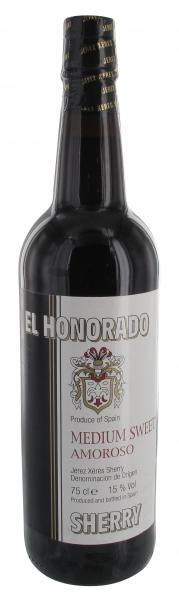 El Honorado Sherry Golden Amoroso