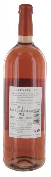 Rebenzecher Portugieser Weissherbst