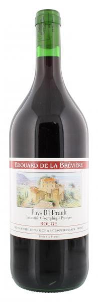 Edouard de la Brévière Pays D'Hérault Rouge