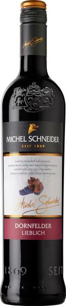Michel Schneider Dornfelder Rotwein lieblich