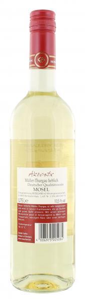 Moselland Akzente Müller-Thurgau Weißwein lieblich