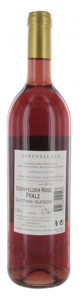 Rebenzecher Dornfelder Rosé