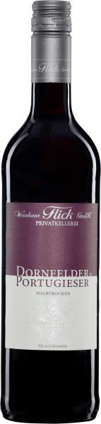 Weinhaus Flick Dornfelder & Portugieser Rotwein halbtrocken
