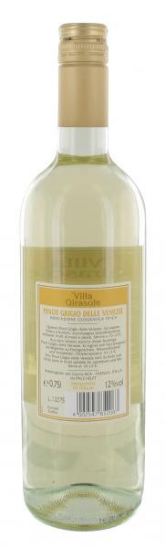 Villa Girasole Pinot Grigio Weißwein trocken