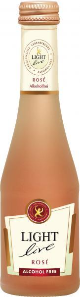 Light Live Rosé Sekt alkoholfrei trocken