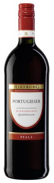 Rietburg Portugieser Rotwein halbtrocken