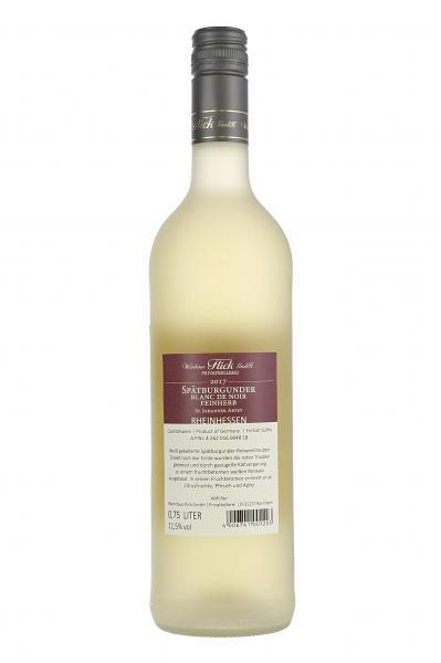 Weinhaus Flick Spätburgunder Blanc De Noir Weißwein feinherb