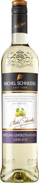 Michel Schneider Riesling-Gewürztraminer Weißwein lieblich