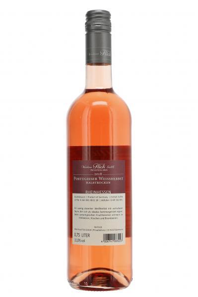 Weinhaus Flick Portugieser Weißherbst Roséwein halbtrocken