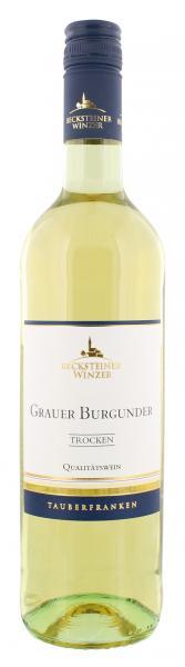 Becksteiner Winzer Grauer Burgunder Weißwein trocken