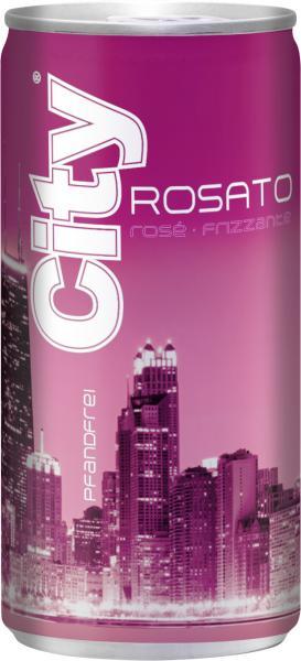 City Rosato rosé frizzante