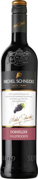 Michel Schneider Dornfelder halbtrocken