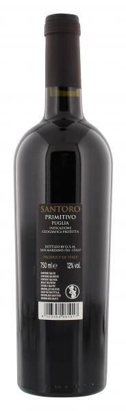 Santoro Primitivo Puglia Rotwein trocken