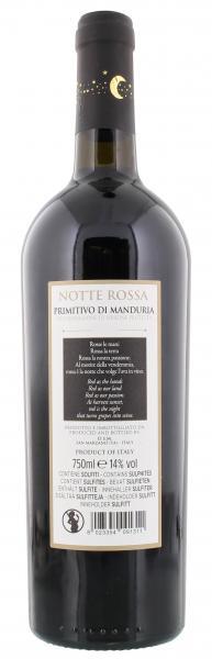 Notte Rossa Primitivo di Manduria Rotwein halbtrocken