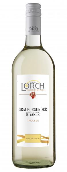 Heinrich Lorch Grauburgunder Rivaner Weißwein trocken