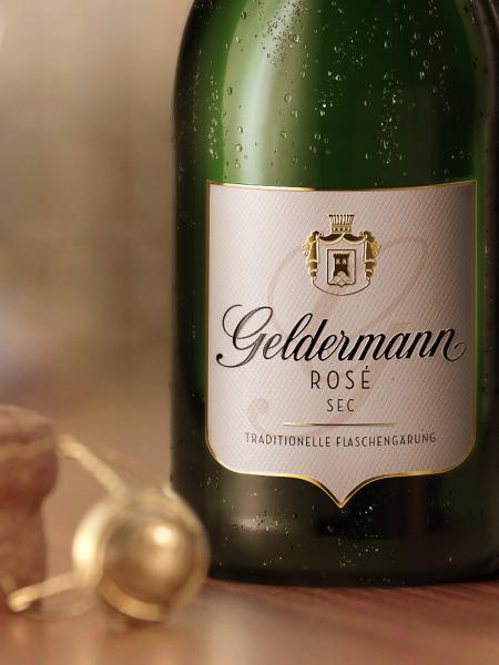 Geldermann Sekt Rosé trocken