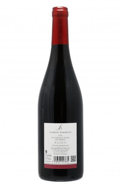 Bimmerle Spätburgunder Rotwein halbtrocken