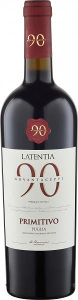 Novantaceppi Primitivo Puglia Rotwein halbtrocken