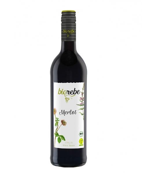 Biorebe Merlot Rotwein trocken