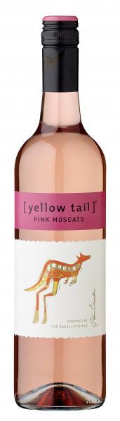 Yellow Tail Pink Moscato Roséwein süß