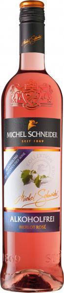 Michel Schneider Merlot Rosé alkoholfrei