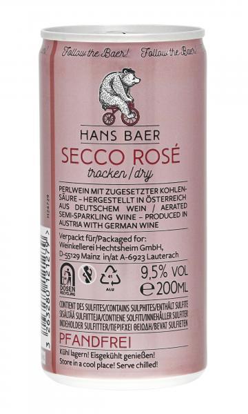 Hans Baer Secco rosé
