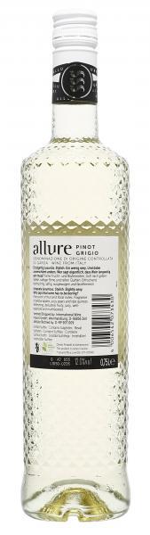 Allure Pinot Grigio Weißwein halbtrocken