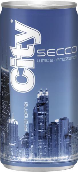 City Secco white frizzante