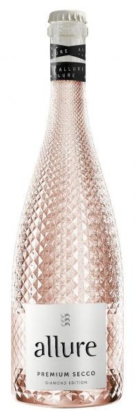 Allure Premium Secco Perlwein Rosé Diamont Edition