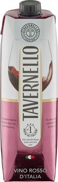 Tavernello Vino Rosso d'Italia Rotwein halbtrocken