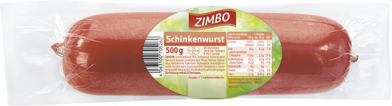 Zimbo Schinkenwurst